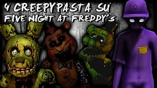 4 Creepypasta che forse non sai su FNAF Five Nights at Freddy's