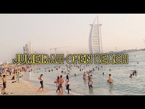 Jumeirah Open Beach   Burj Al Arab Beach   Dubai Beach