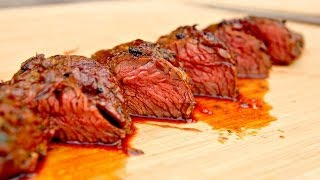 Hanger Steak With Chilli Pepper Marinade Video Recipe - How To Make An Easy Marinade