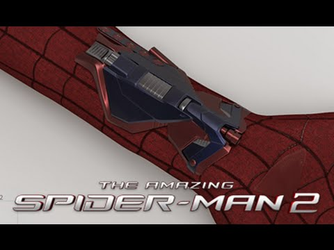 The Amazing Spider-Man 2 Unused Web-Shooters With MP3 Player