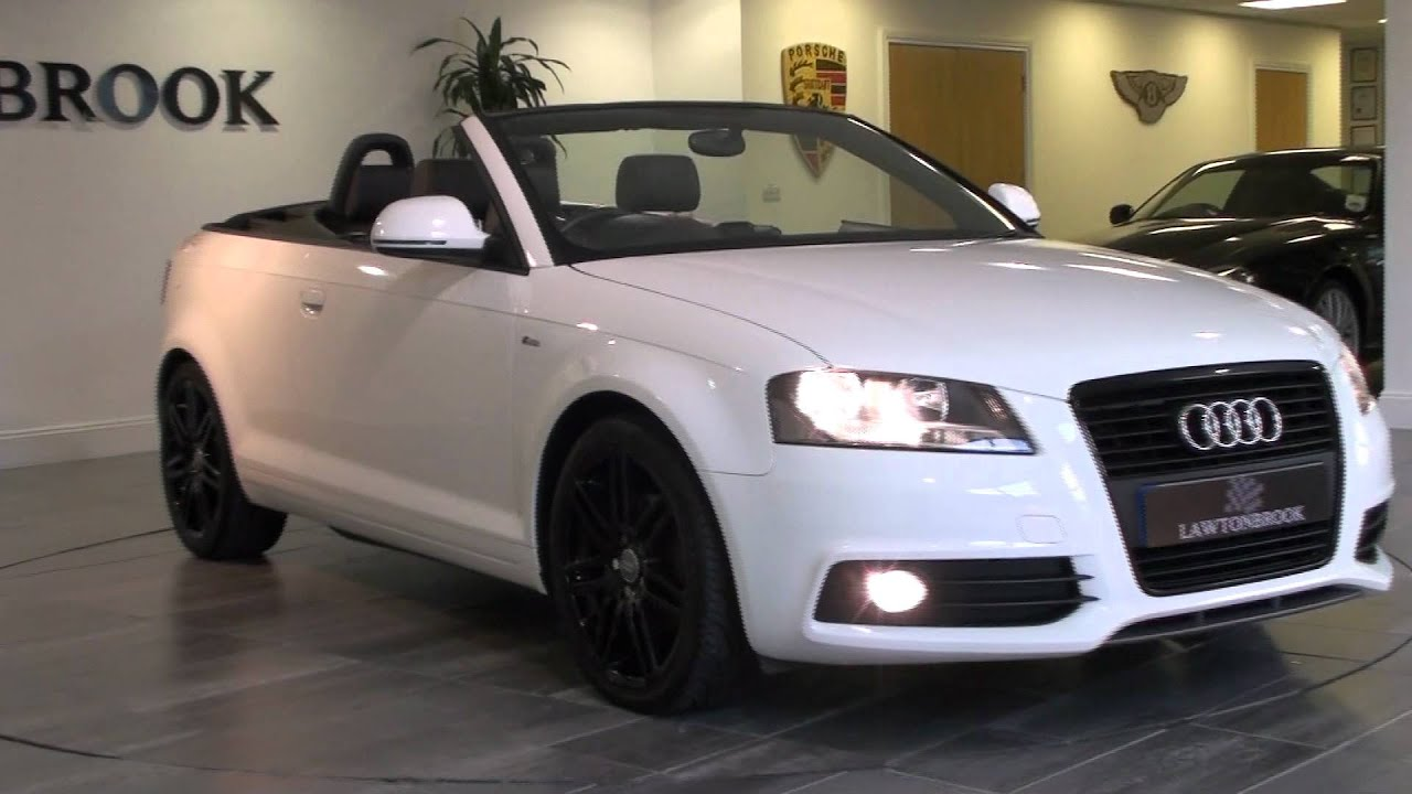 Lawton Brook - AUDI Cabriolet A3 2.0 TDI S LINE S TRONIC - For Sale