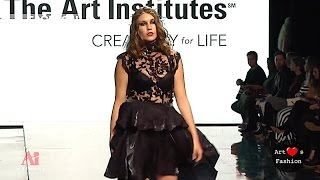 THE ART INSTITUTES Los Angeles Art Hearts Fashion part 8 Spring Summer 2017   Fashion Channel