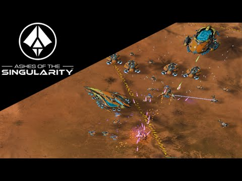 Ashes of the Singularity Gameplay - Substrate! New Faction