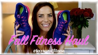 Fall Fitness Clothing Haul! - Nike, Fabletics, Nordstrom, Target + More!