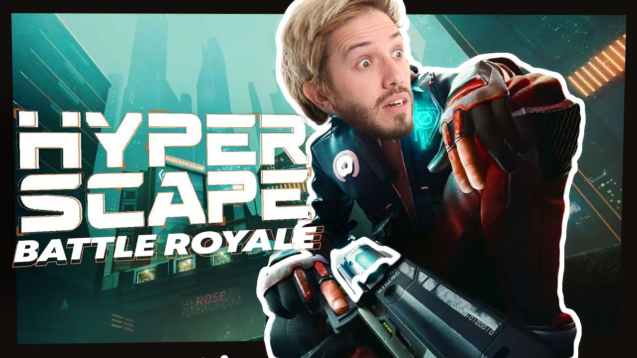 First Look at HYPER SCAPE! New Battle Royale!