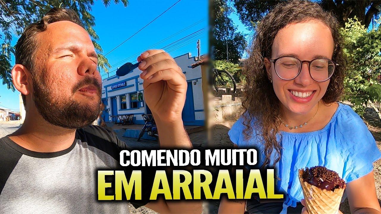 COMENDO BEM E BARATO EM ARRAIAL D'AJUDA (com preços)