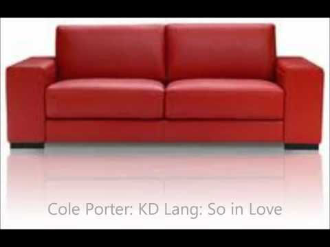k.d. lang  Cole Porter  So in Love