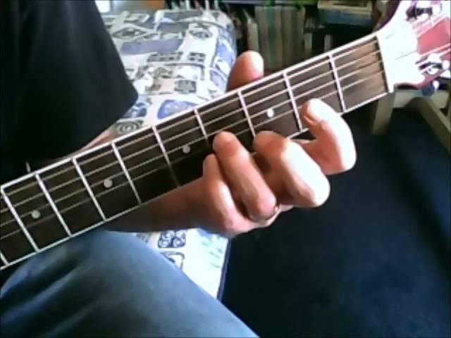 Easy-to-play popsongs gitaarles : bm akkoord / guitar lesson : bm ...
