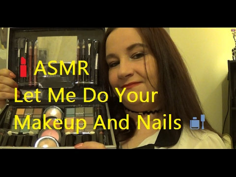 Asmr makeup palette tapping