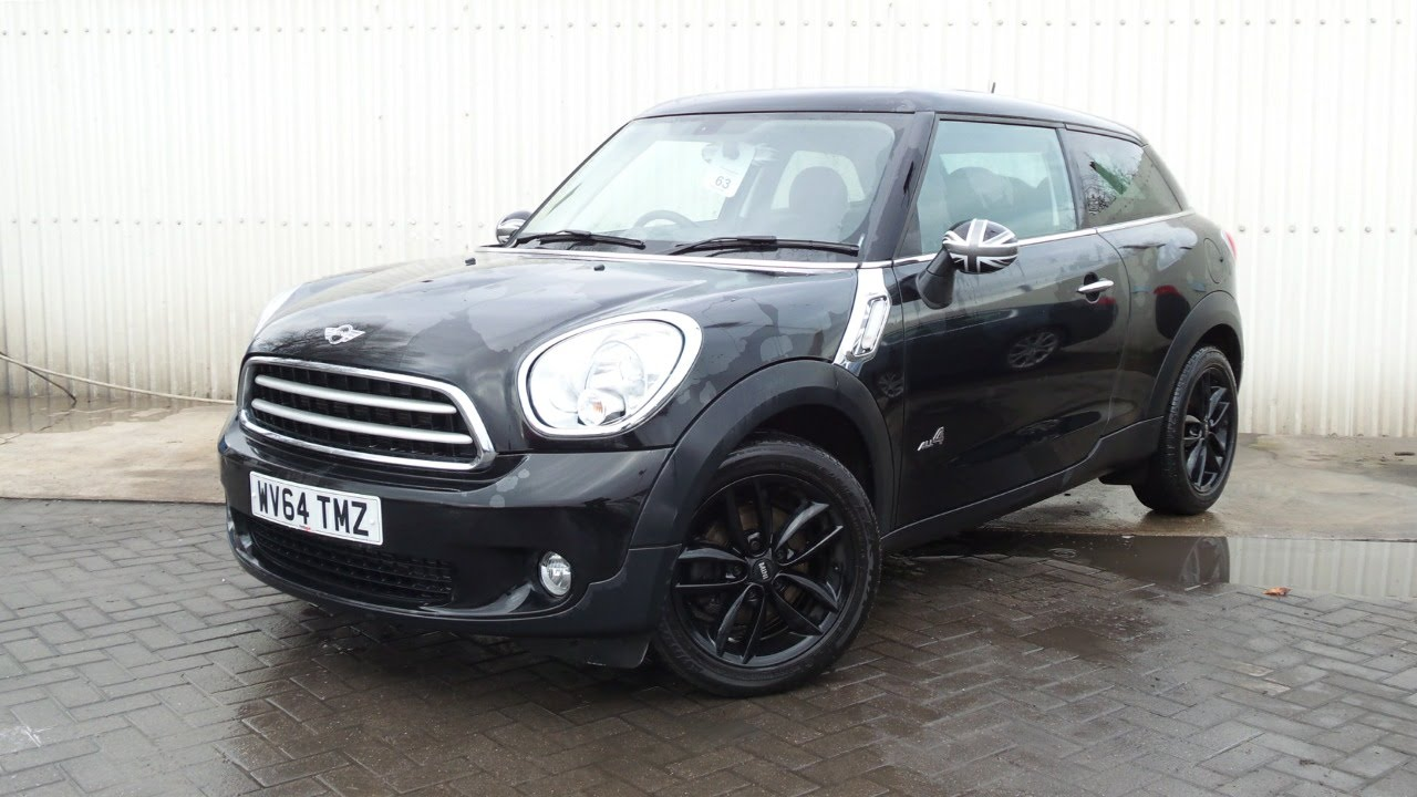 2014 64 Mini Paceman 16 Cooper D All4 3dr In Grey Youtube