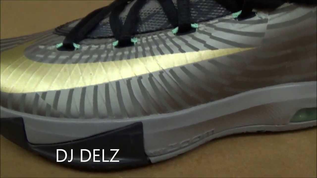 Nike KD 6 VI Precision Timing Sneaker Review + 3M Test   On Foot W   DjDelz d60446eb8