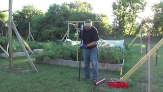 How to use a T-post hammer