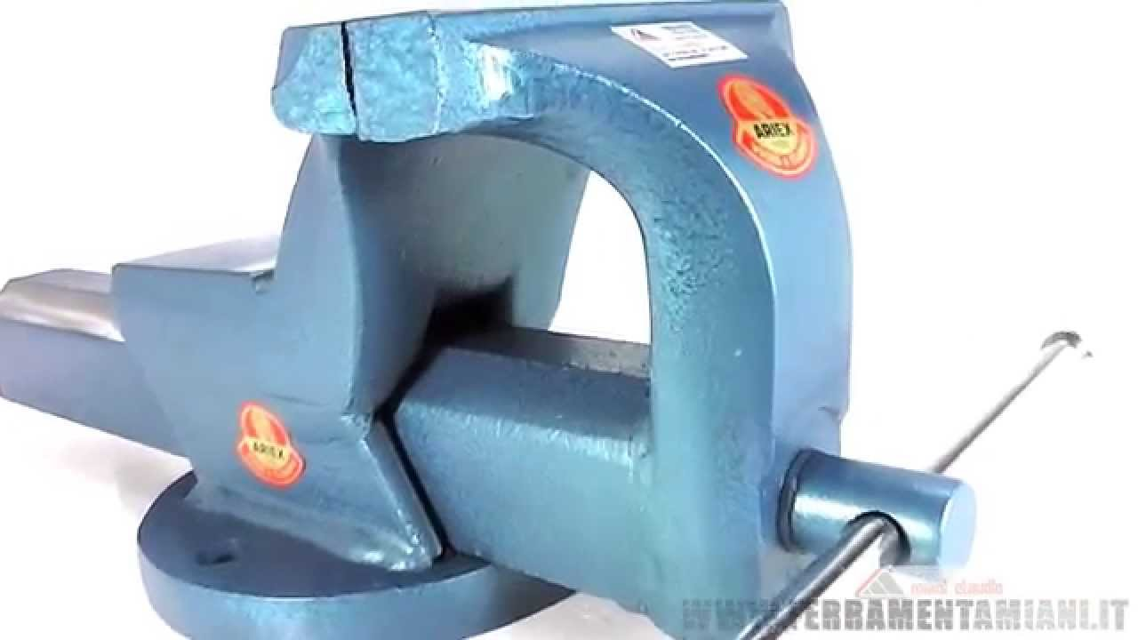 Morsa da banco in acciaio ariex modello ruby da 150 mm for Morsa da banco idraulica