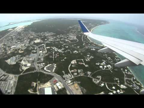 Departing Providenciales, Turks & Caicos International Airport (PLS)