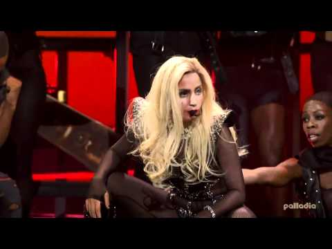 Lady Gaga - Judas @ IHeartRadio Music Festival 2011 Performance Live