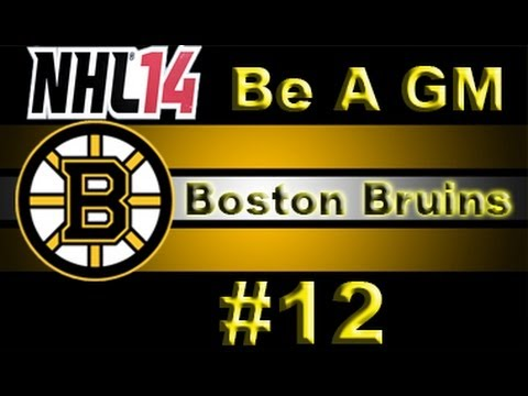 "NHL 14 GM Mode Commentary - Boston Bruins Ep.12 ""Money Problems"""