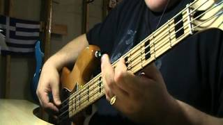 Eric Clapton Wonderful Tonight Bass Cover