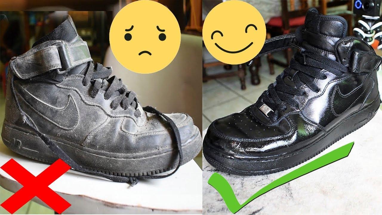 Restauralos Tus Negros Como Limpiar Force Facilito Air Nike Tenis PIqq6Bxnw