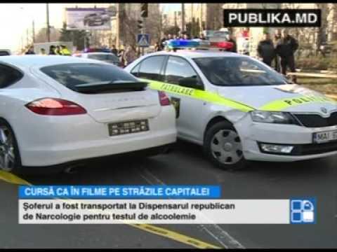 Un tânăr cu Porsche-ul a pus pe jar poliţia