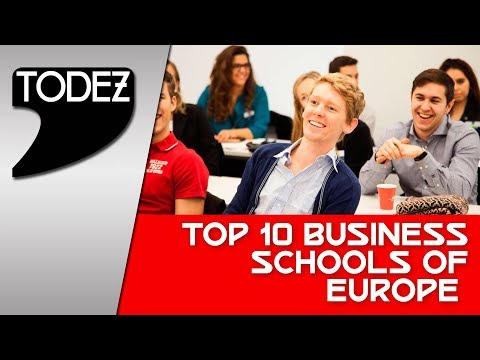 Top 10 Business Schools of Europe