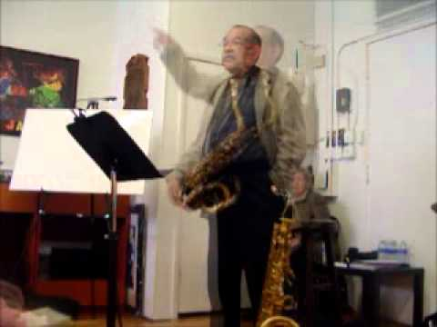 Ernie Watts on practicing and discipline.wmv
