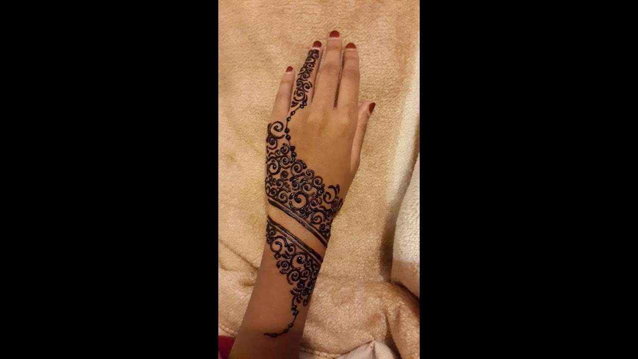 Latest Mehndi Designs For Back Hands Easy Mehndi Design