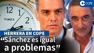 """Herrera desmonta a Sánchez: """"vacunator, vacunator, alumbrándonos como buen visionario"""""""