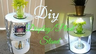 Diy 3 Tier Display/Plant Stand Quick, Simple and Inexpensive!