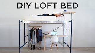 DİY Loft Yatak