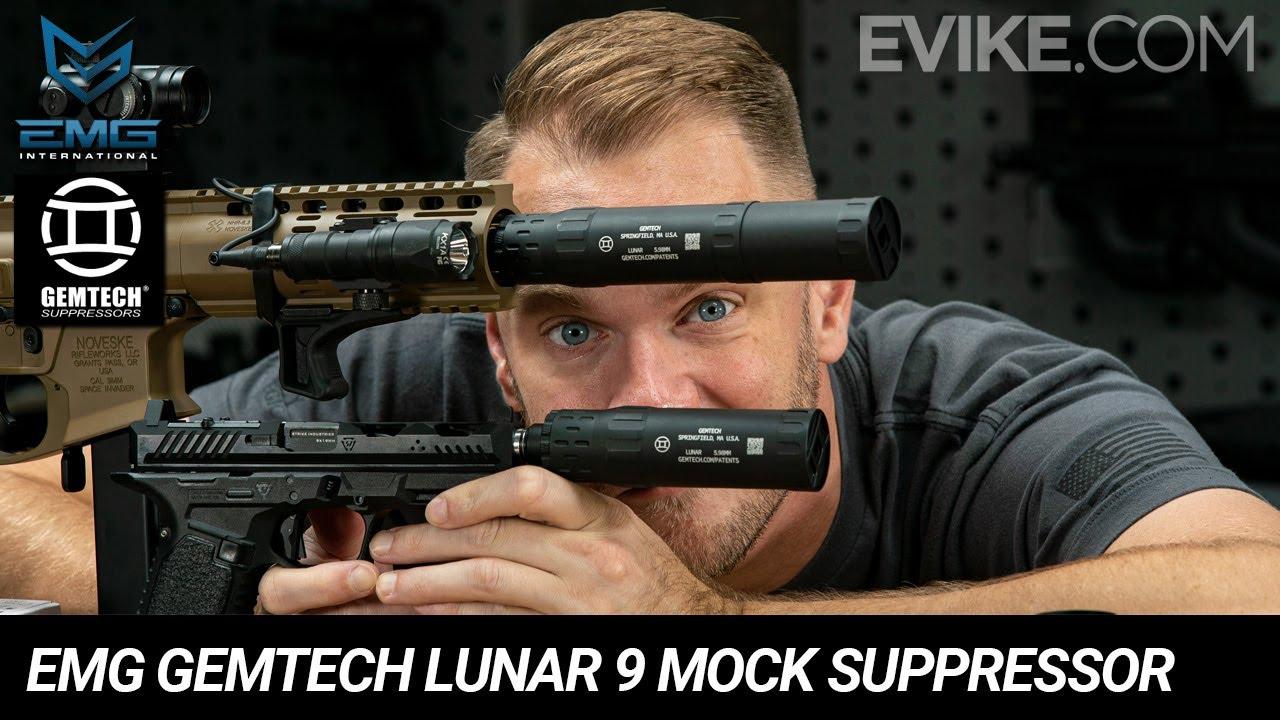 EMG Gemtech Lunar 9 Mock Suppressor with Tracer Unit - Quick Look