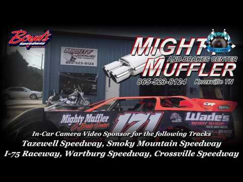 #P4 Jamie Perry - Crate Late Model - 3-31-17 Boyd's Speedway - In-Car Camera
