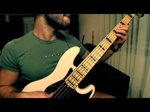 Lenny Kravitz – Live bass cover