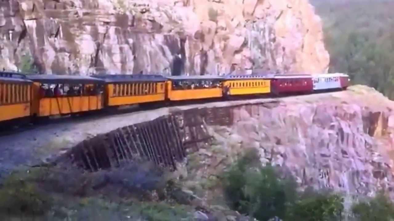 Narrow Gauge Railroad Silverton To Durango,  june 2013