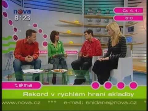Moravské klavírní trio na TV NOVA