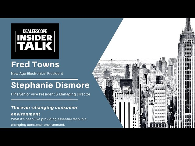 Dealerscope Insider Talk: New Age Electronics & HP
