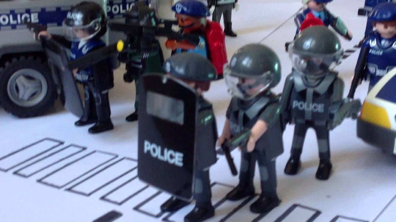 Playmobil intervention police youtube - Playmobile policier ...