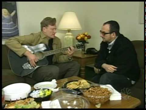 Conan O'Brien & Elvis Costello - Alison