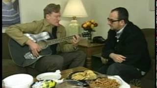 Conan O'Brien & Elvis Costello - Alison