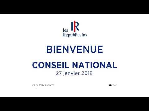 Conseil National - 27 janvier 2018