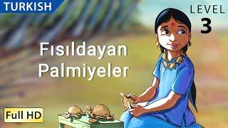 "Fısıldayan Palmiyeler : Learn Turkish with subtitles Children and Adults ""BookBox.com"""