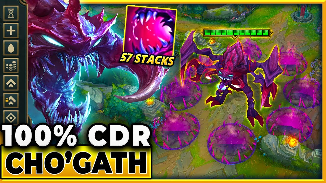Cho'Gath But Can Eat Anything EVERY Second...