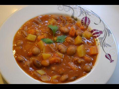 Стручковая фасоль в томатном соусе — Кулинарные рецепты