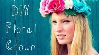 ✿♡ D I Y Floral Crown ♡✿ Thumbnail