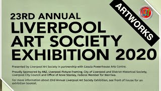 23RD ANNUAL LIVERPOOL ART SOCIETY EXHIBITION-ARTWORKS