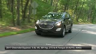 2017 Chevrolet Equinox Test Drive