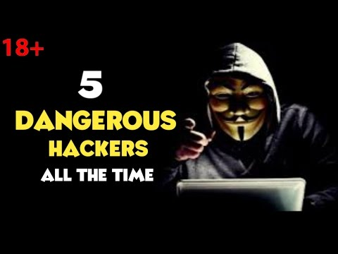 Top 5 Most Dangerous Hackers Of All Time  Most Dangerous Hackers(HINDI) 2017