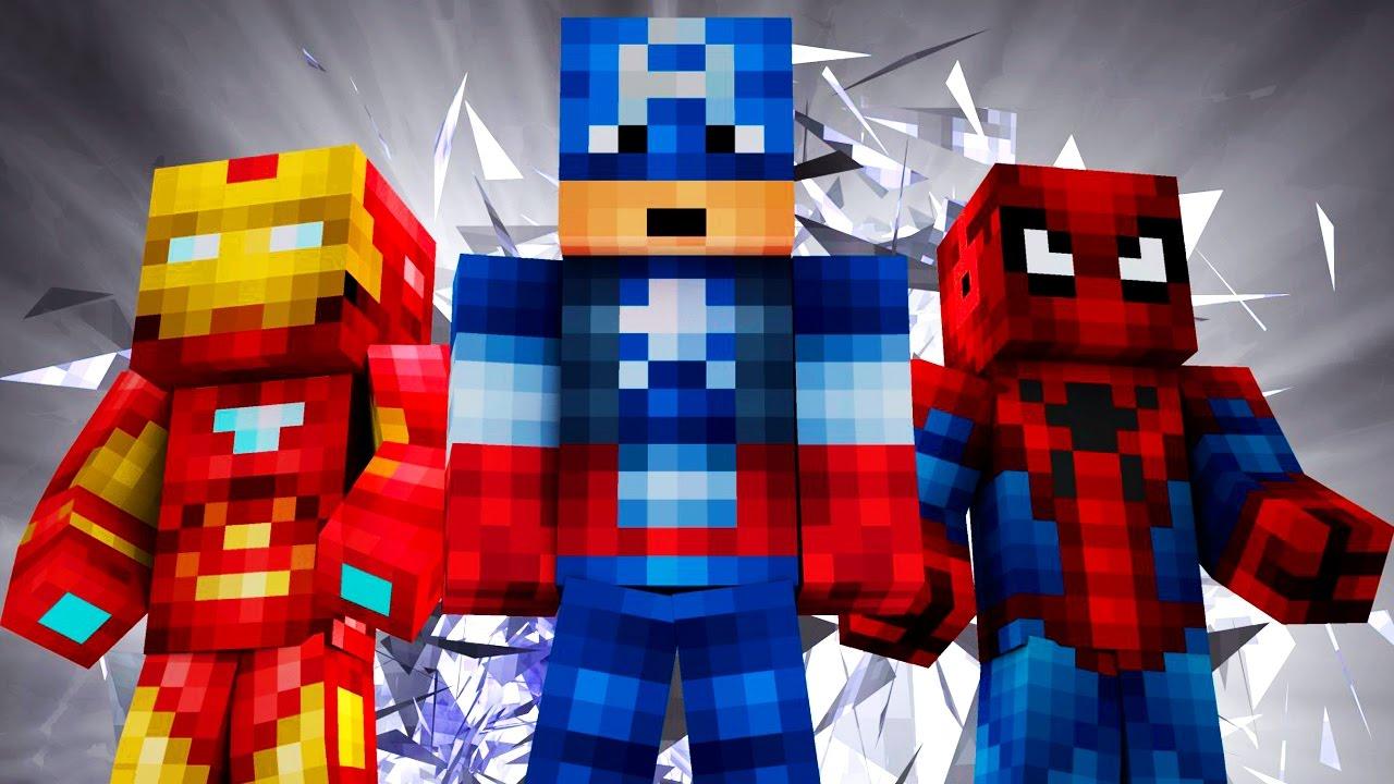 майнкрафт скины супергероев #7