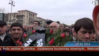 Müsavat üzvləri ilə polis arasında qarşıdurma yaşanıb