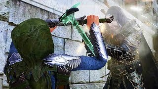 SHADOW OF WAR - HIGH Level DLC Boss Battle Talion vs Eltariel The Ending Of History