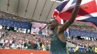 Mo Farah wins 3000m in London - Universal Sports